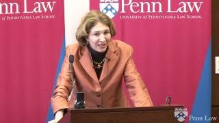 Dr. Anne-Marie Slaughter, Holt Lecture on International Law