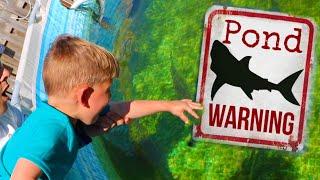 JAWS Attacked Little Kid in Aquarium!! **Crazy**
