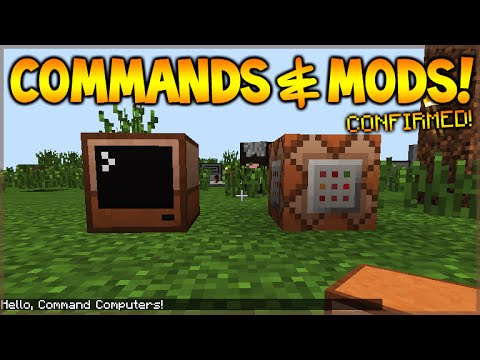 ★Minecraft Xbox 360 + PS3 + MCPE - COMMAND BLOCKS & MODS! Confirmed (News Update)★