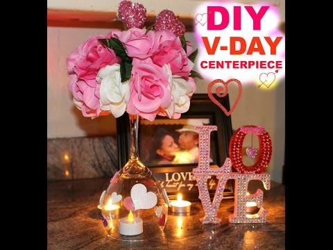 DIY Valentine's Dinner Date Table Setup
