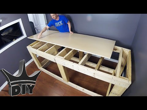 HOW TO: Build an aquarium stand