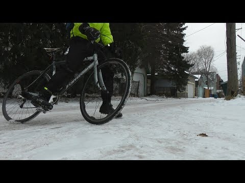 Winter Bicycle Communiting in Minnesota