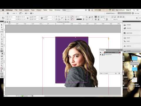 HOW TO: USE INDESIGN TO CREATE A MAGAZINE COVER