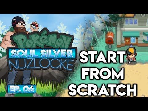 START FROM SCRATCH?! - Pokémon Soul Silver Nuzlocke Randomizer w/ Oshikorosu! Part 6!