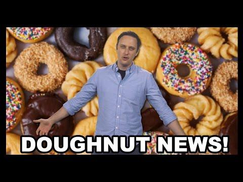 Frozen Doughnut Cheeseburgers from Walmart, and Other Doughnut News - Food Feeder
