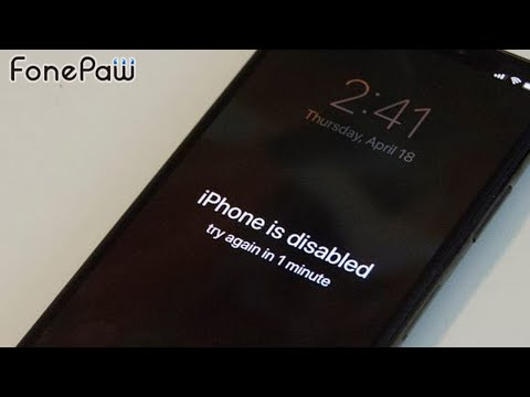 iPhone is Disabled? How to Unlock iPhone/iPad