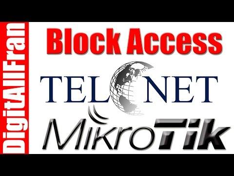 How to block telnet attack on RB Mikrotik