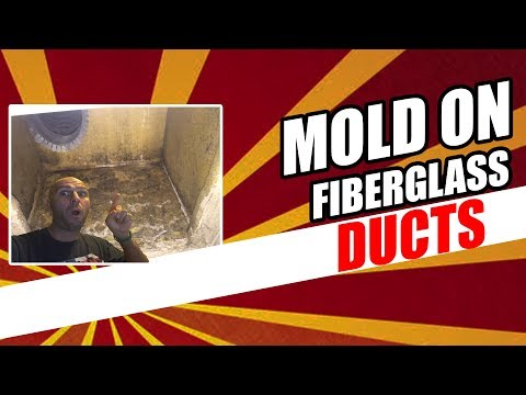 How To Remove Mold From Fiberglass Ducts 🙃 (2018)