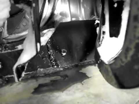 Snow blower repair, scraper blade upscaling