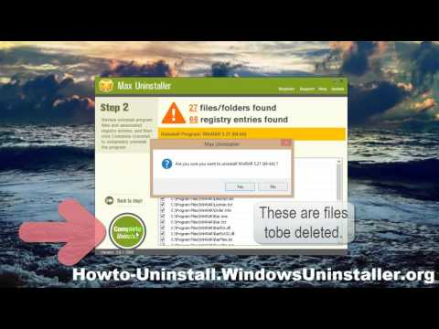 Correct Steps to Fully Remove WinRAR (64-bit) on PC