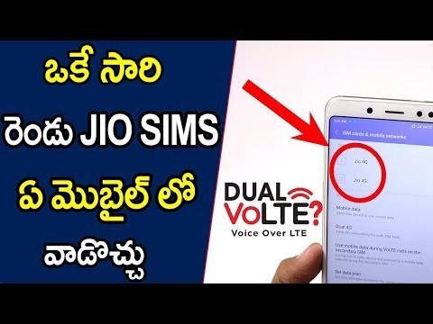 Everything you need to know about dual VoLTE smartphones Telugu