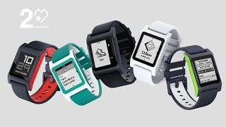 Pebble 2 + Heart Rate: Fit & Smart