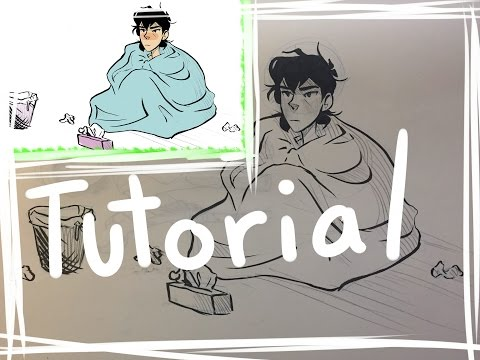How to turn traditional lineart into digital lineart on Paint Tool SAI