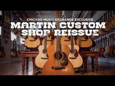 Martin Custom Shop 1943 000-21 Limite Run Reissue | Acoustic Guitar Documentary