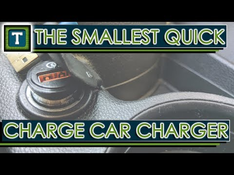 The Smallest Quick Charge Car Charger (Rapid/Turbo/Dash/Fast Charging)