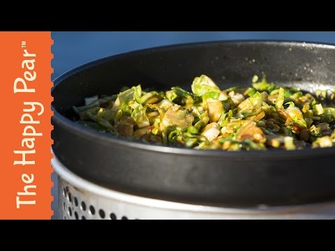 How to make Asian style brussel sprouts - The Happy Pear