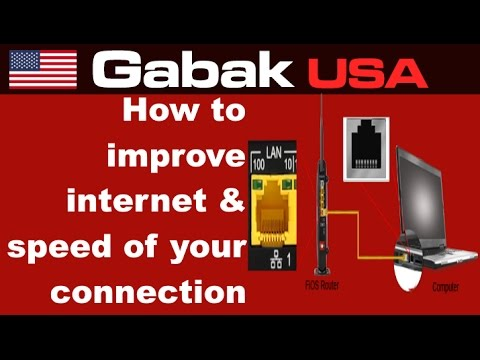 how to improve internet latency & speed of your connection