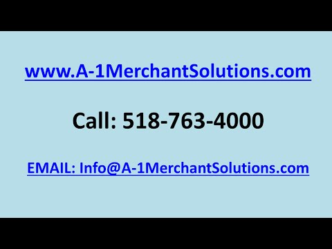 Best Credit Card Processing Companies   518-763-4000   A-1 Merchant Solutions   Albany NY