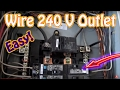 How To Wire A 240 Volt Outlet Diy Install A 220 Volt Outlet