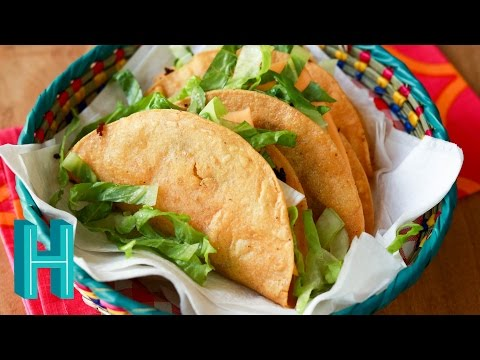 FRIED TACOS!!! - How To Make Deep Fried Tacos
