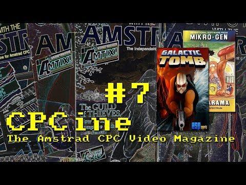 Computing With The Amstrad Retrospective - CPCine Episode 7