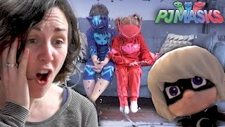 PJ Masks Luna Girl Toy Thief Makes Owlette Cry