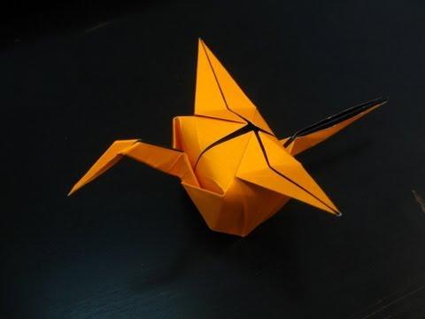 Origami Crane Party Hat Tutorial (Tim Rickman)