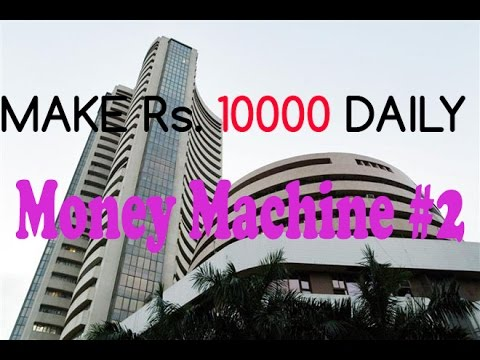 Profit Rs10000 Intraday trading LIVE Money Machine| Vlog-5