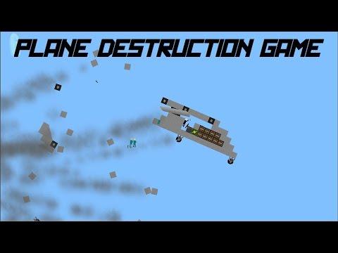 Plane Destruction Game! | Bill, Jerry and John Explode! (Realistic Plane Physics - GameJolt)