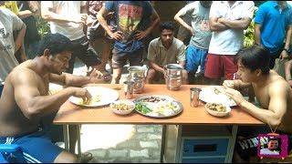 Food Eating Contest (Johny Jacob Vs Ezan Pull)