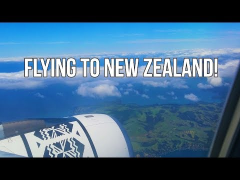 FLYING TO NEW ZEALAND! // 30+ hours from Baltimore to Auckland