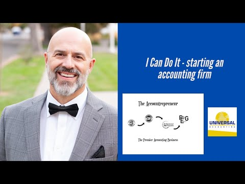 I Can Do It - starting an accounting firm