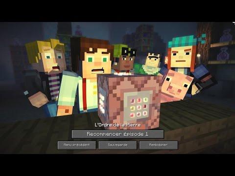 Minecraft Story Mode - épisode 1: L'ordre de la Pierre