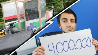 4,000,000 Subscribers! (EPIC SURPRISE: What could it be?)