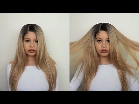 HOW TO MAKE SYNTHETIC WIG LOOK NATURAL!