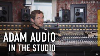 ADAM Audio In The Studio With Johann Scheerer (Clouds Hill Recordings)