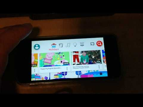Blocking videos/channels on Iphone for Youtube Kids app. Press the 3 dots at home or in video