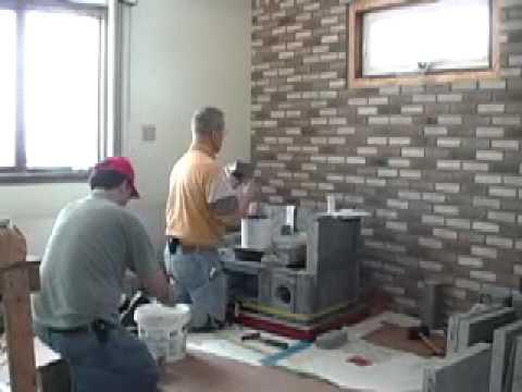 TU2200 Time Lapse - Masonry Heater Design House