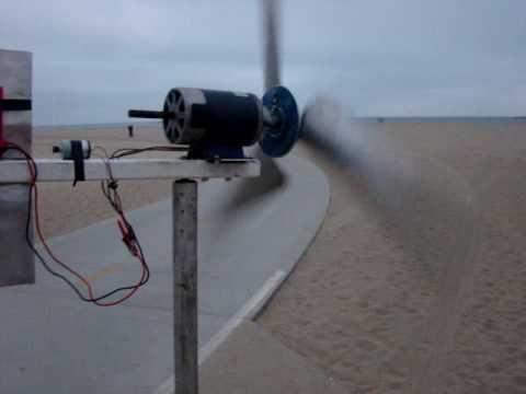 DIY Wind Turbine - Permanent Magnet Generator