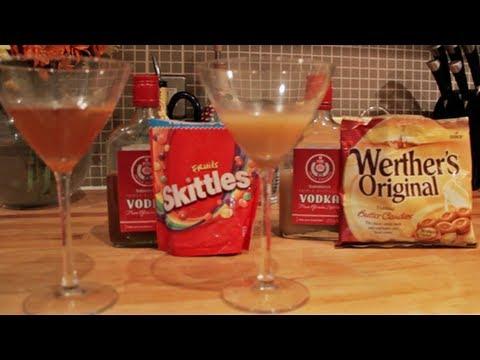 Dishwasher Vodka - Skittles vs Werther's Originals