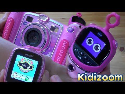 VTech Birthday Toys Stolen (VTech Advertorial for Kidizoom Smartwatch, Camera, Flix)