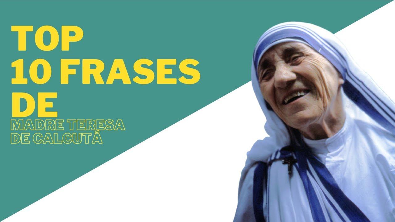 As Dez 'mais' Frases de Madre Teresa de Calcutá