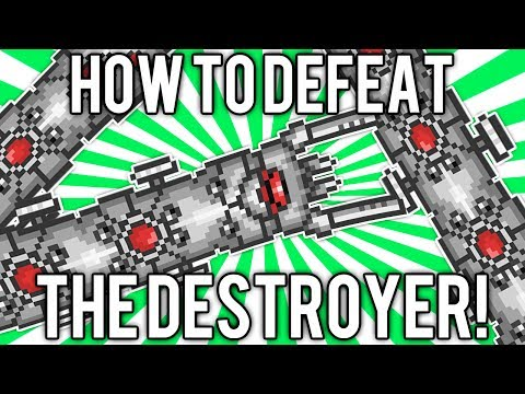 Terraria 1.2: How to Defeat The Destroyer! (UPDATED EASY SOLO GUIDE / TUTORIAL) @demizegg