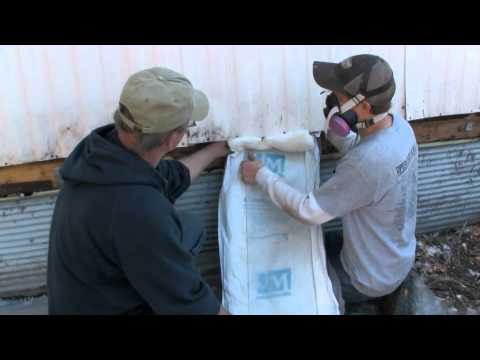 Mobile Home Series: Insulating the Walls