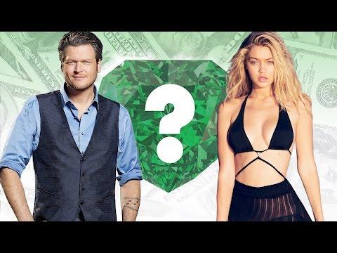 WHO'S RICHER? - Blake Shelton or Gigi Hadid? - Net Worth Revealed!