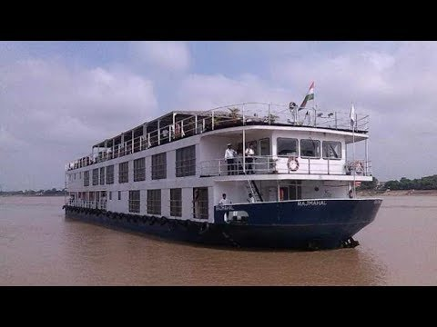 a luxury cruise in varanasi to chunar  and a look of chunar fort chunar most awaited pull and a crui