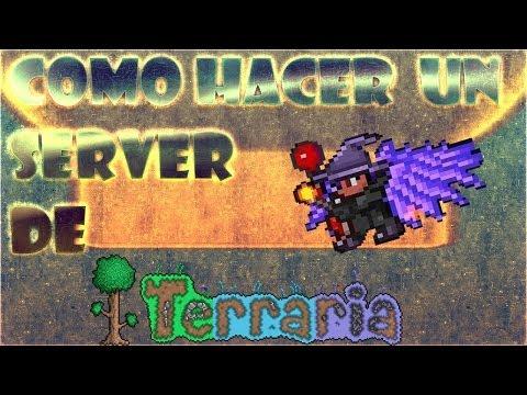 Terraria 1.2.4.1 como crear un server con/sin hamachi [Funciona]
