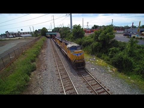 Operations of a Railyard: CSX Philly Sub Railfanning 7/2 - 7/3/16