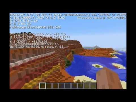 Crazy Minecraft 1.7/1.8 Seed: Ocean Mesa, Ground Dungeon, Temples!