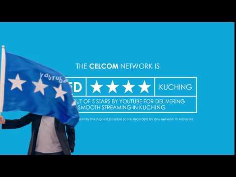 Celcom YouTube Video Check Up Kuching